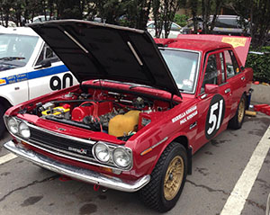 'Max the Datsun' 1600 Peking-Paris endurance rally car